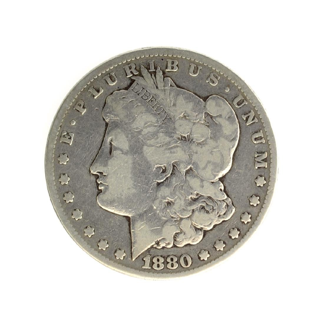1880-CC Morgan Silver Dollar Coin