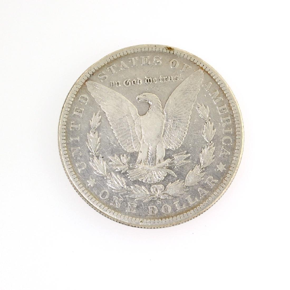 1896-S Morgan Silver Dollar Coin - 2