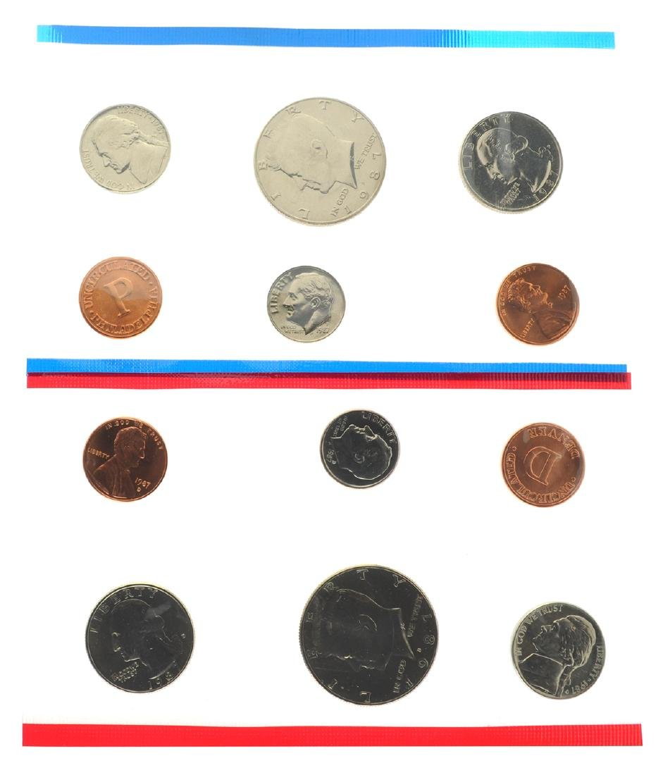 1987 United States Mint Uncirculated Set Coin