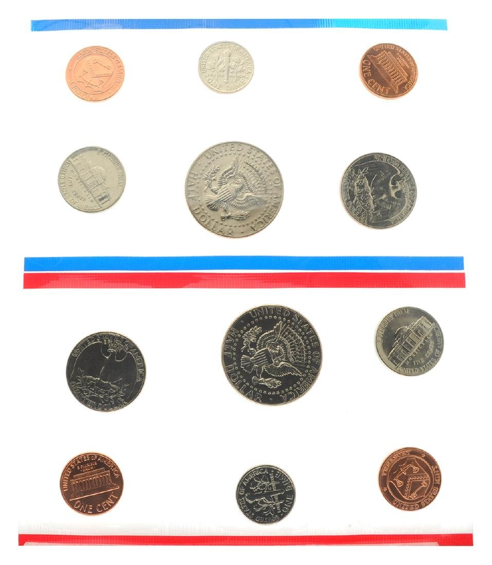 1987 United States Mint Uncirculated Set Coin - 2
