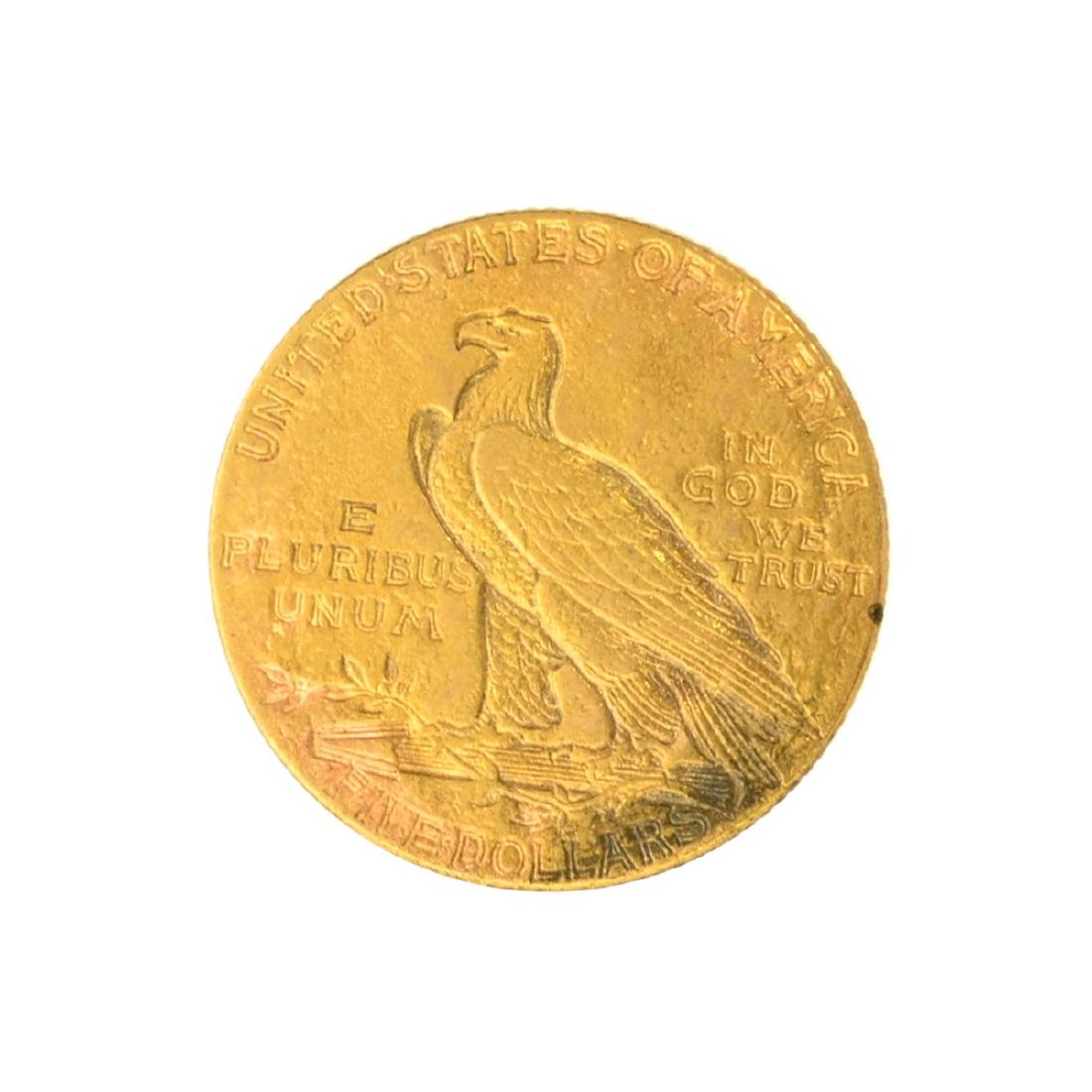 *1911 $5 U.S. Indian Head Gold Coin - Great Investment - 2