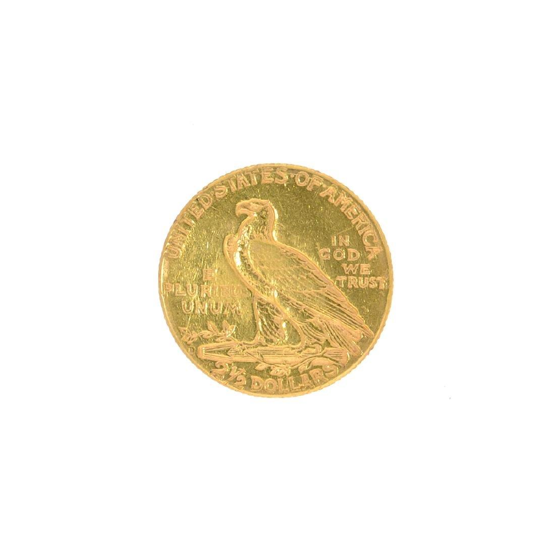 *1925-D $2.50 U.S. Indian Head Gold Coin (JG N) - 2