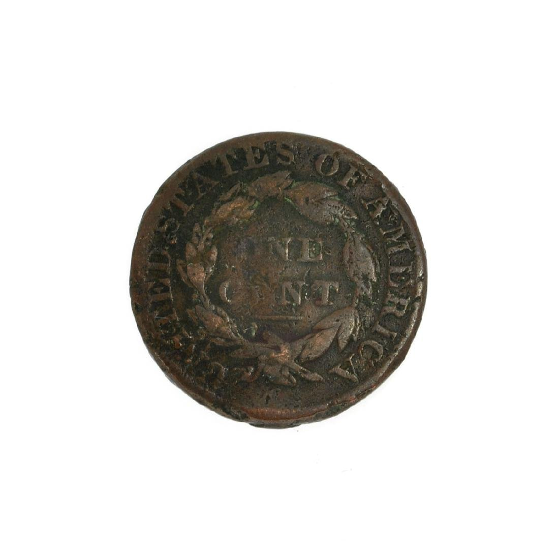 Rare 1831 Large Cent Coin - 2