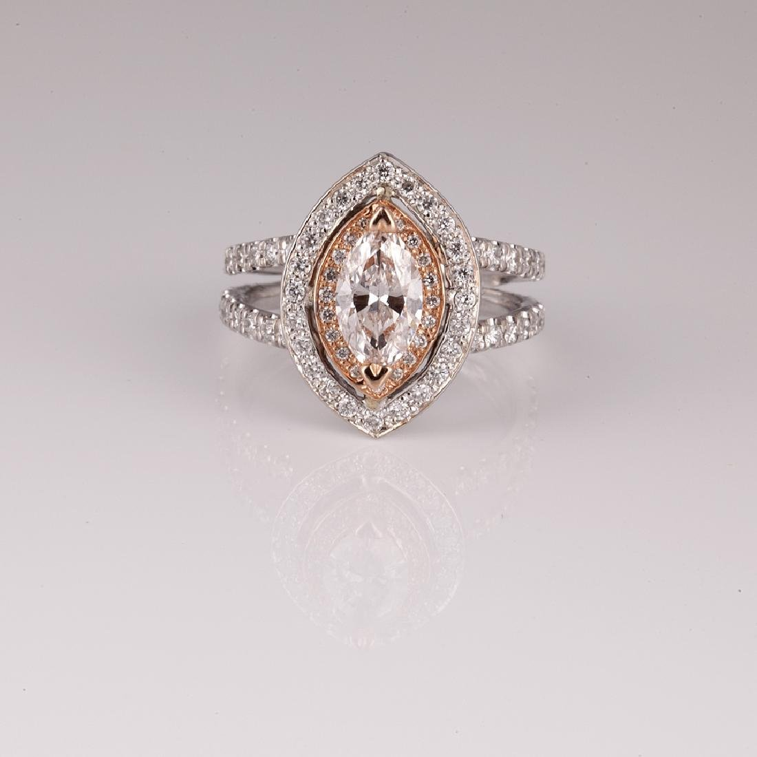 APP: 22.4k Fine Jewelry *14 kt. White/Rose Gold, 1.53CT