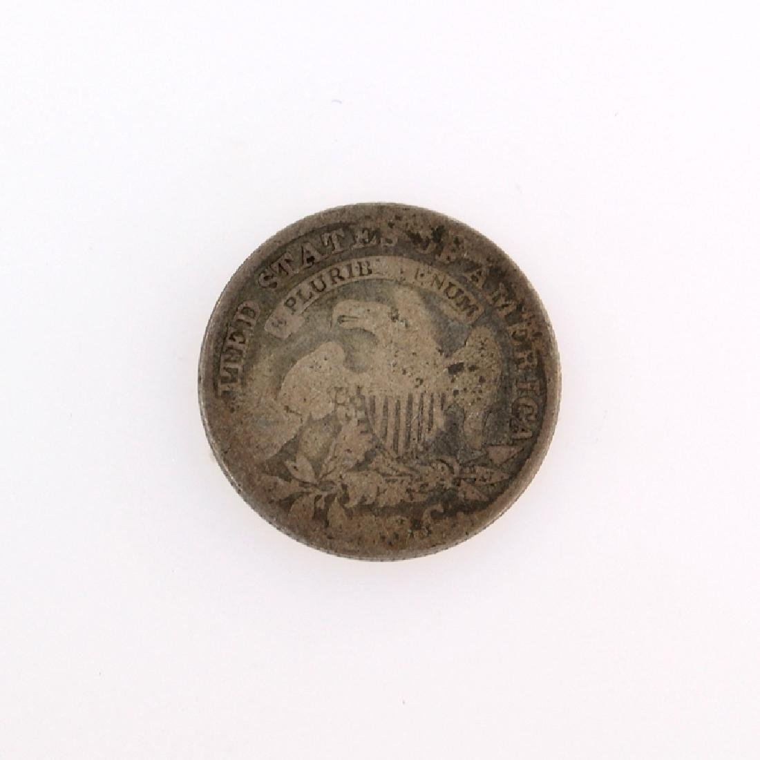 1829 Capped Bust Dime Coin - 2