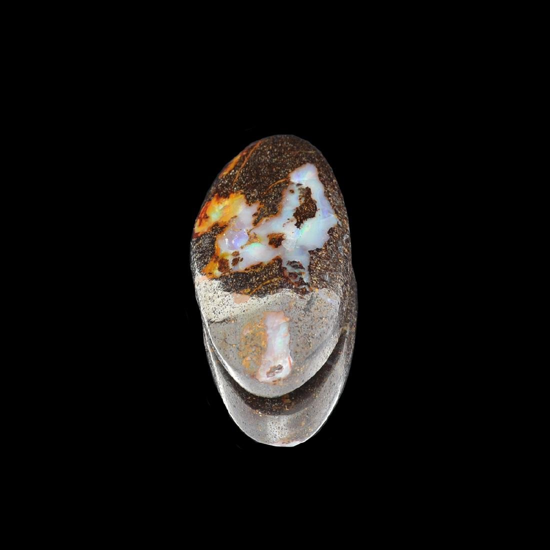 Gorgeous 35.35CT Rare Boulder Opal Gemstone