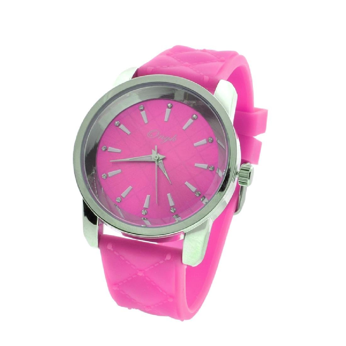 New Onyk, Stainless Steel Back, Water Resistant, Pink