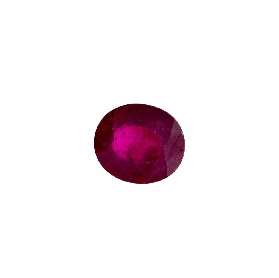 APP: 4.5k 18.01CT Oval Cut Ruby Gemstone
