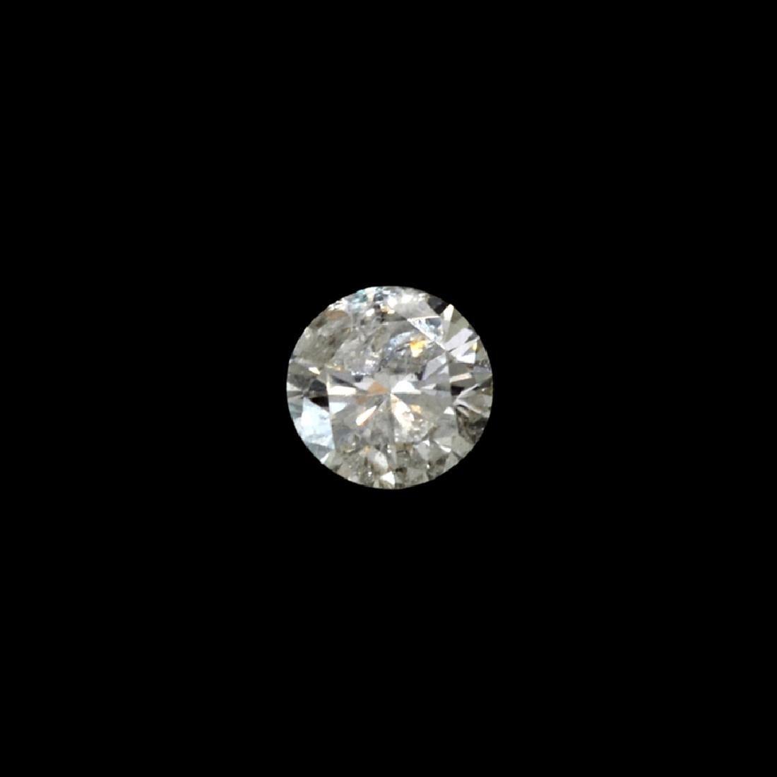 Fine Jewelry GIA Certified 0.19CT Round Brilliant Cut