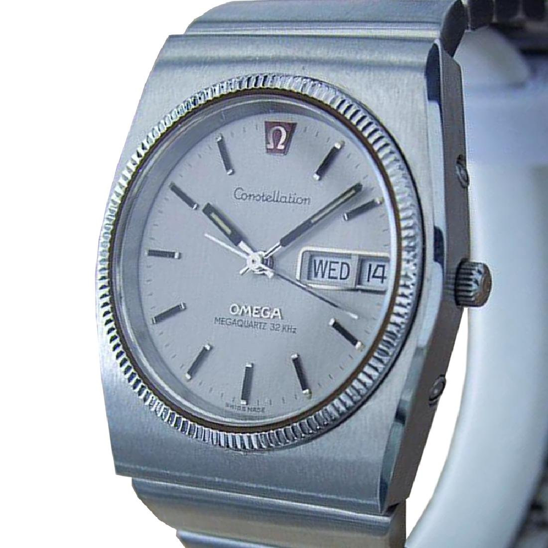 *Omega Constellation Mega Quartz Swiss Made Mens