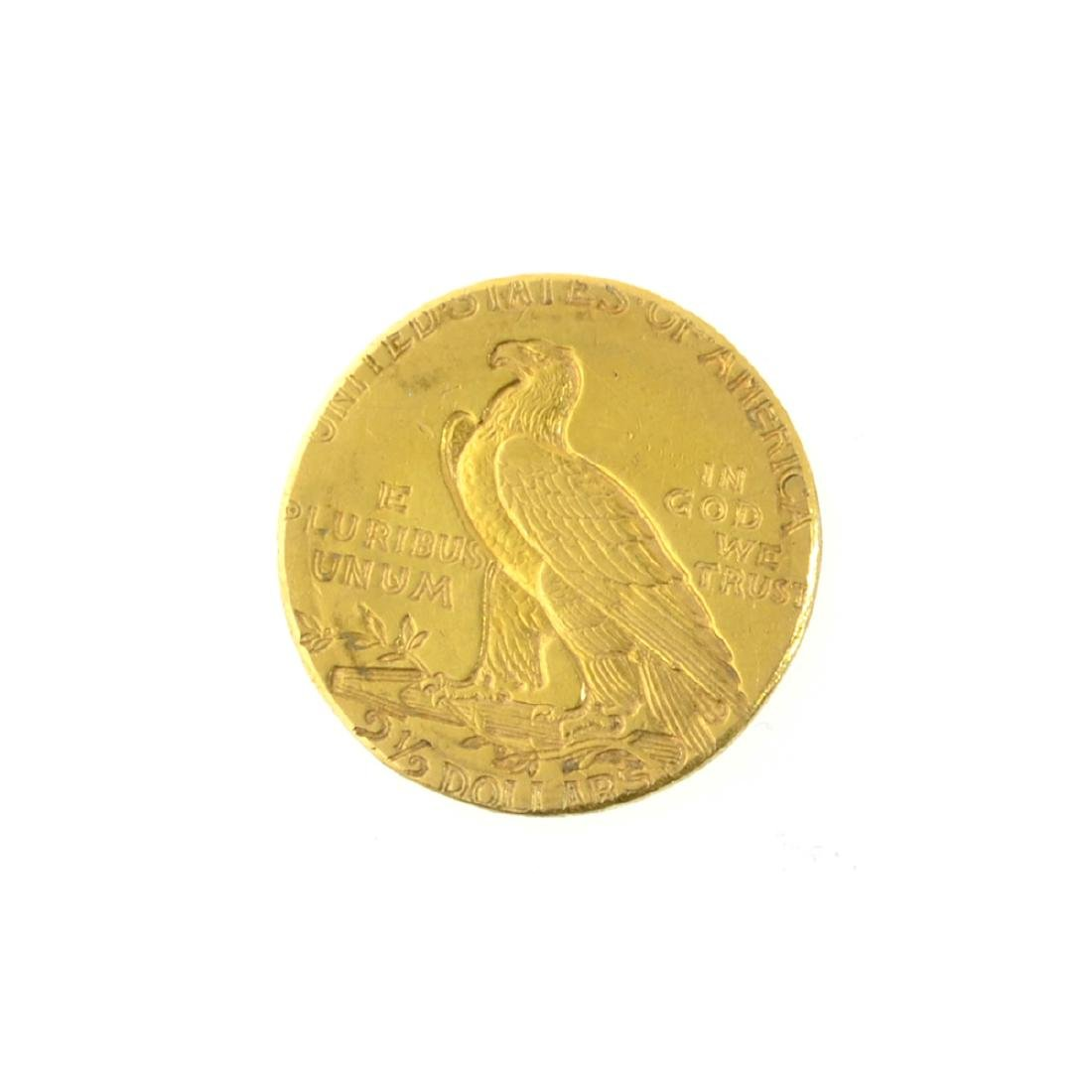 *1912 $2.50 U.S. Indian Head Gold Coin (PS-JWJ) - 2