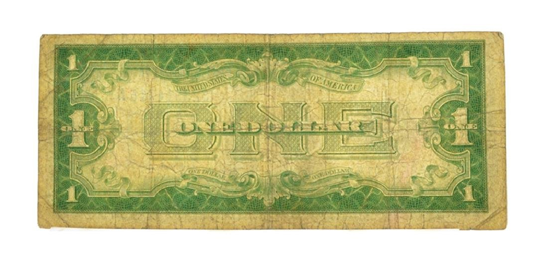 1928 $1 Silver Certificate Funny Back - 2