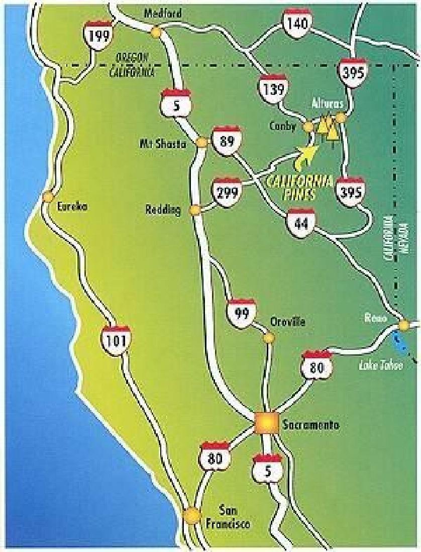 GovernmentAuction.com CA LAND, 1 AC., CALIF. PINES, - 3