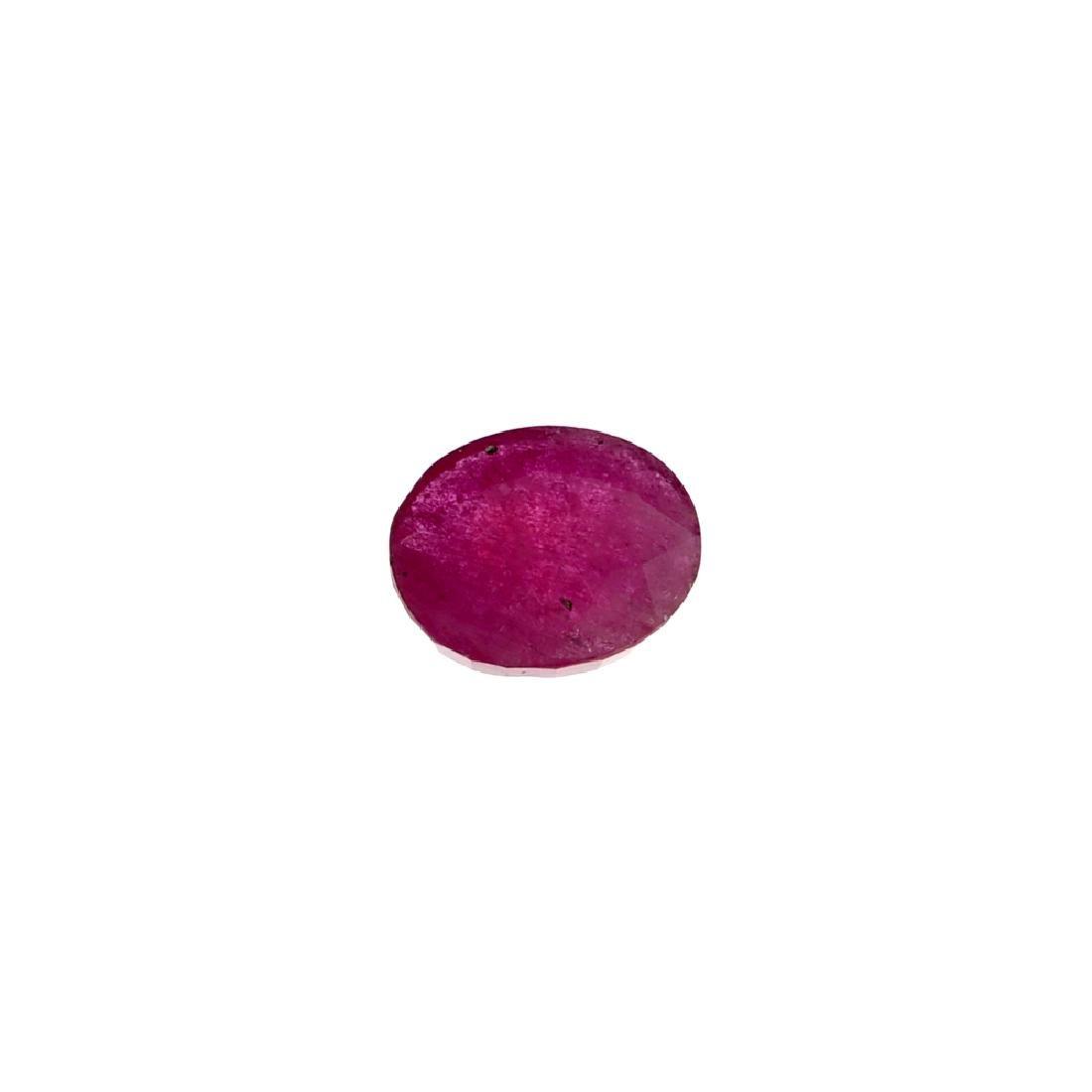 APP: 1.6k 9.07CT Oval Cut Ruby Gemstone