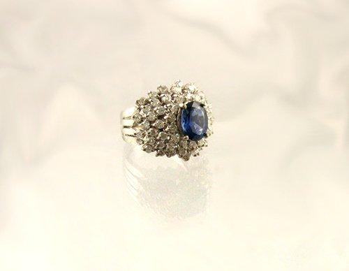 1313: APP.: $23.9K, 2.04CT Sapphire and 1.72CT Diamond