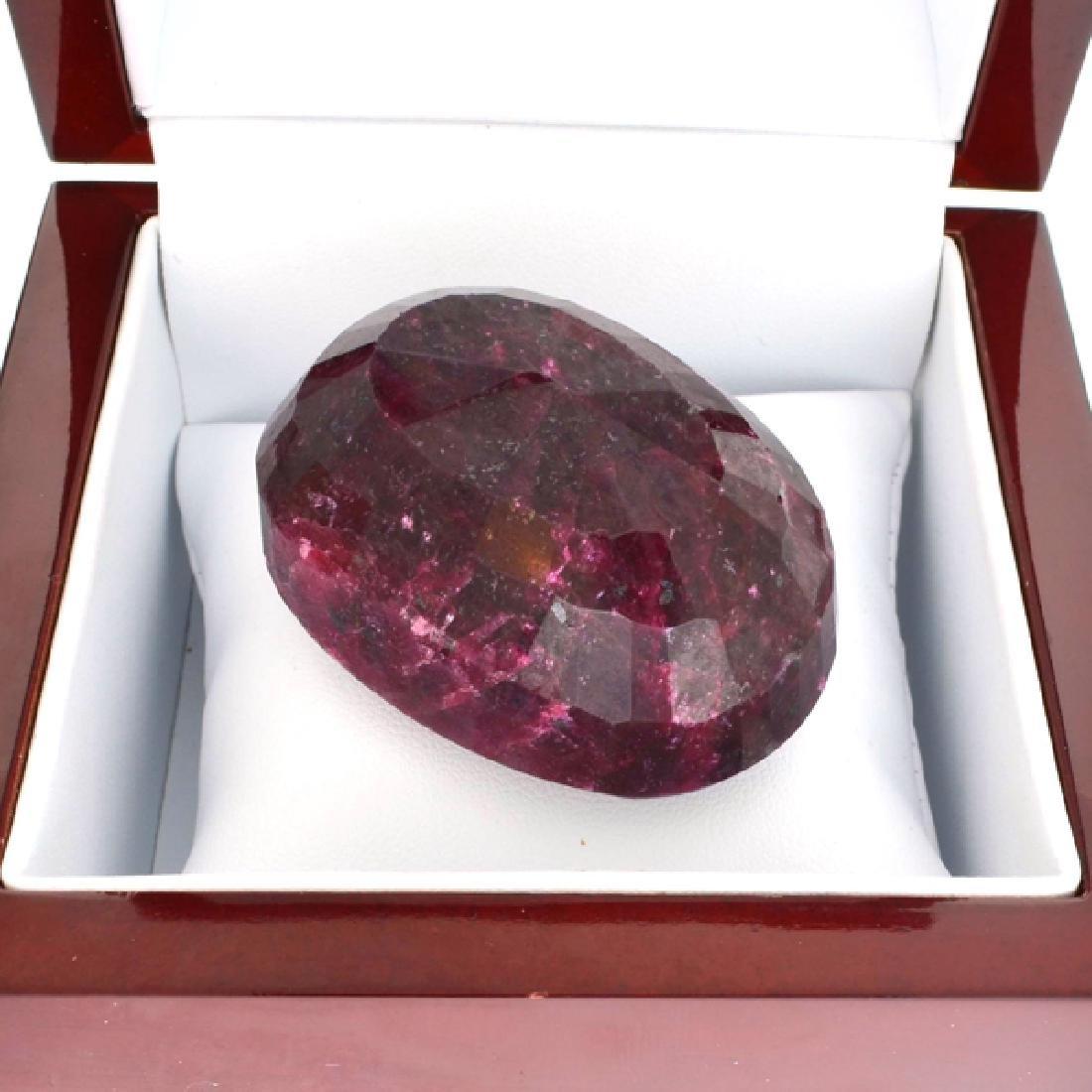 APP: 21k 600.55CT Oval Cut Ruby Gemstone - 2