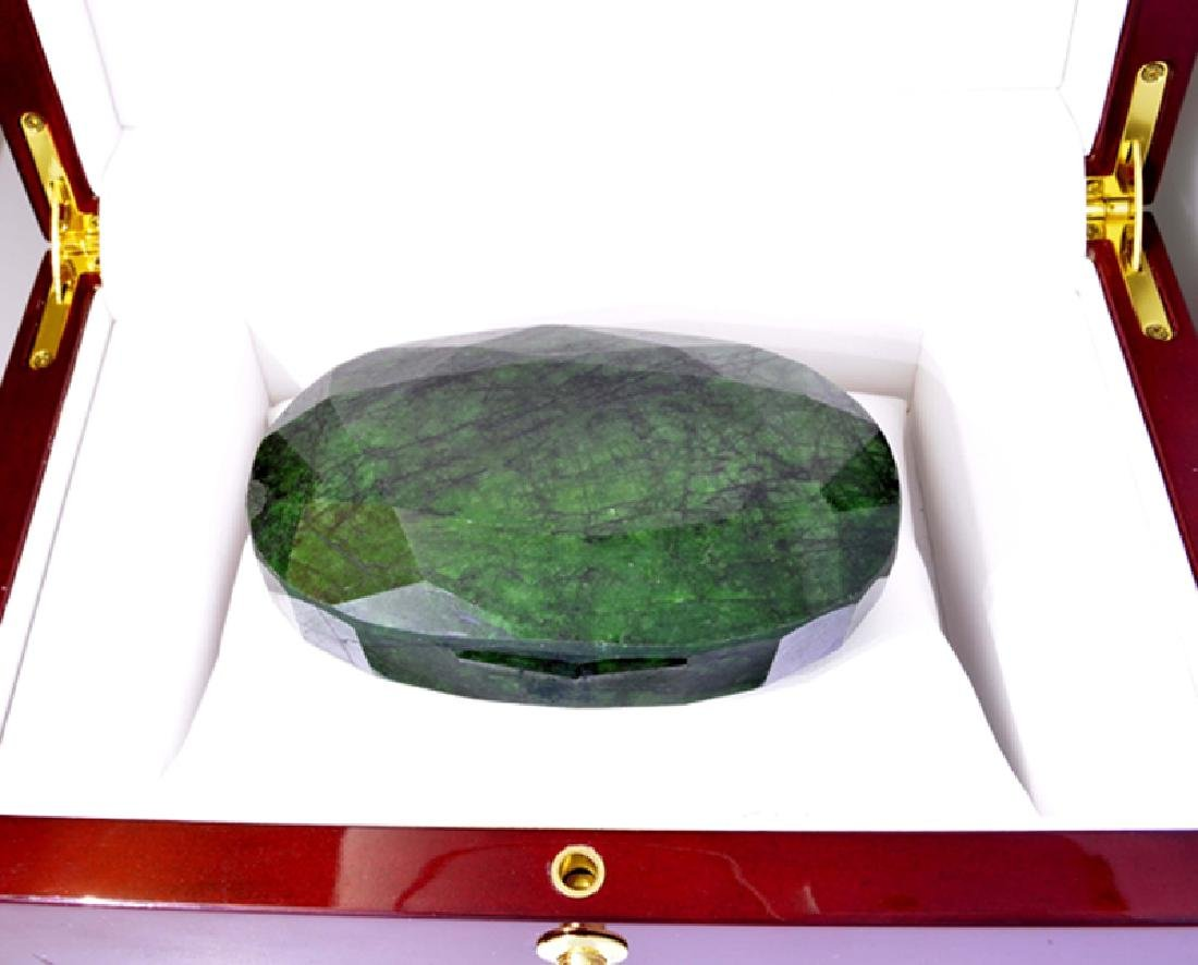 APP: 11.2k 1401.80CT Oval Cut Green Beryl Emerald
