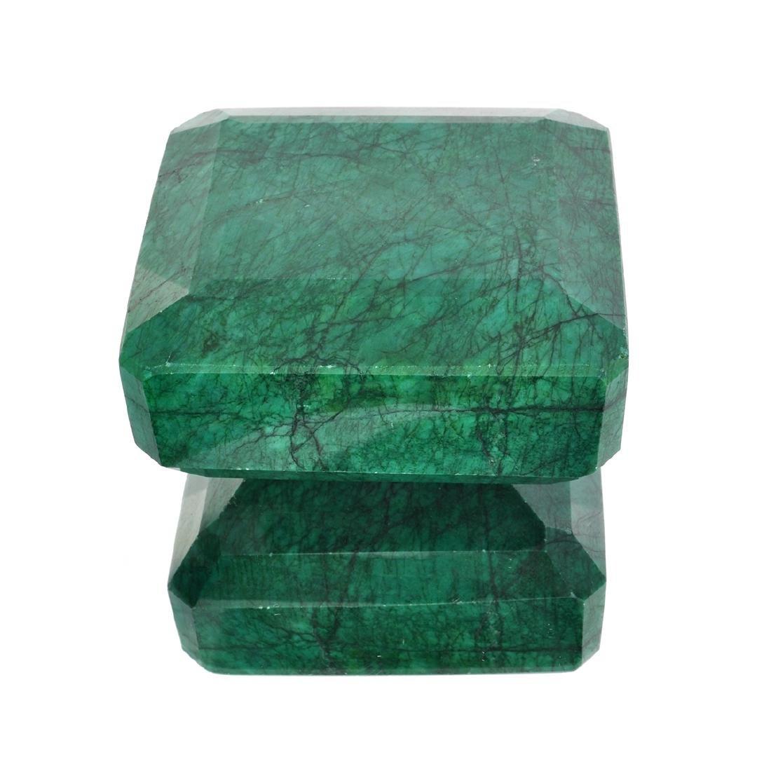 APP: 6.6k 2,622.33CT Rectangular Step Cut Green Beryl