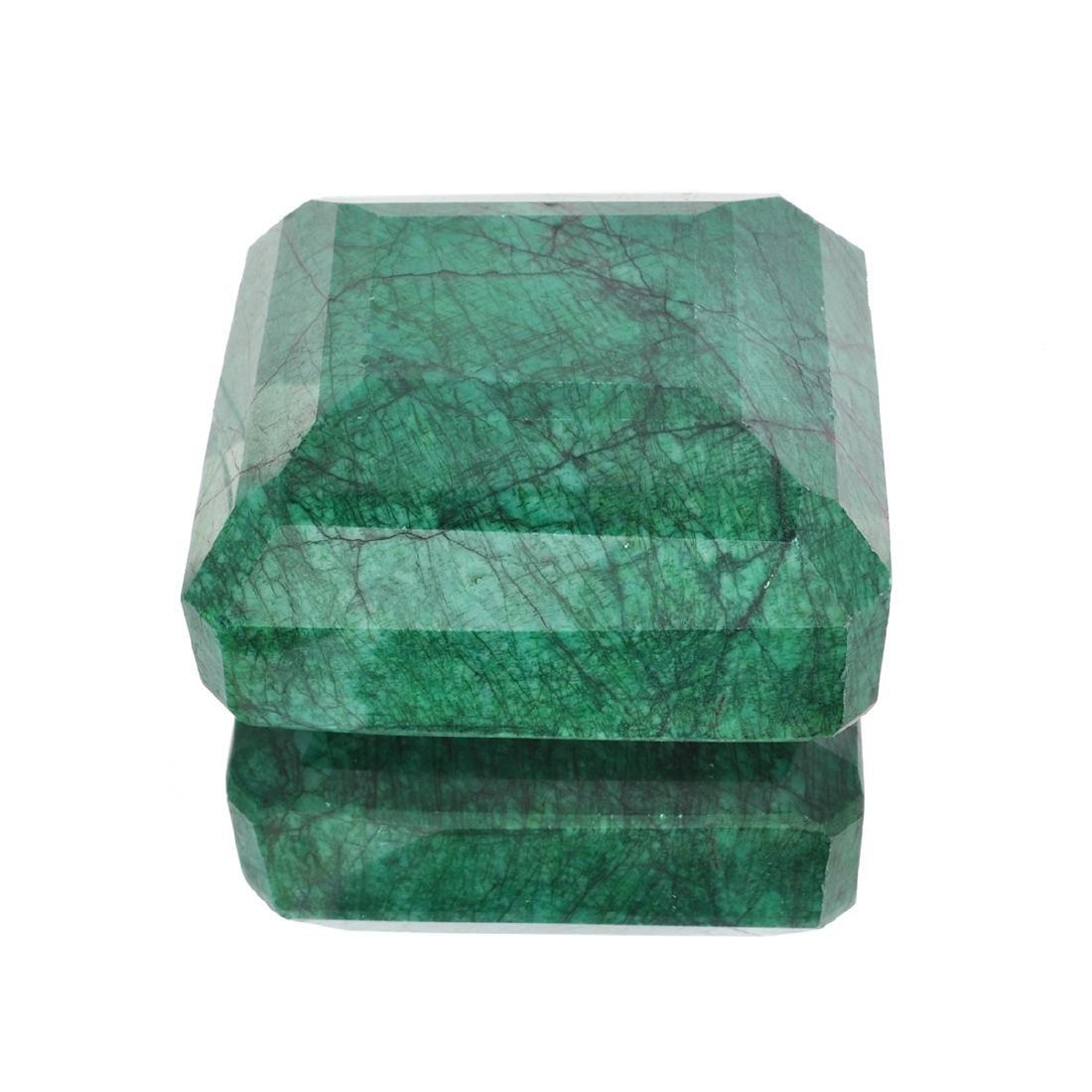 APP: 6.6k 2,622.33CT Rectangular Step Cut Green Beryl - 2
