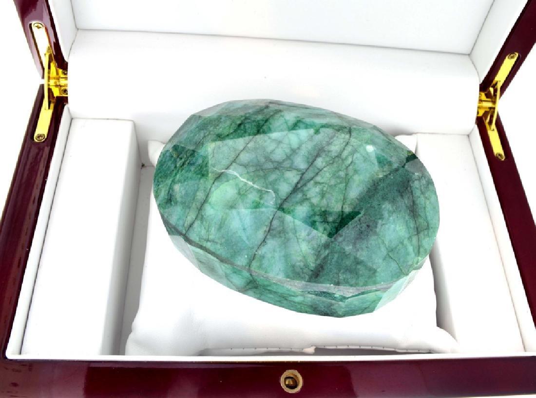 APP: 9.7k 2434.50CT Oval Cut Green Beryl Emerald