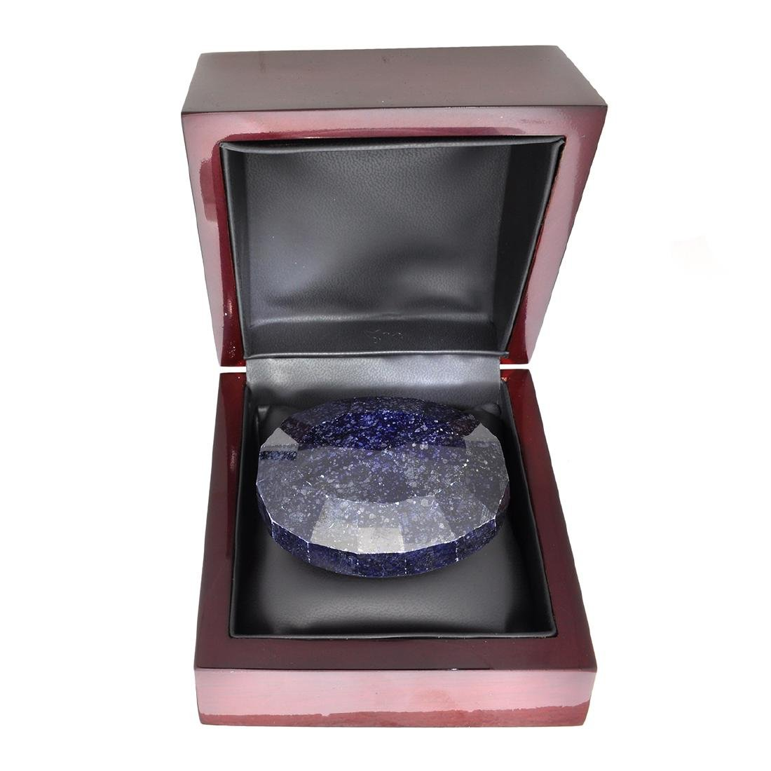 APP: 3.2k 1,267.85CT Oval Cut Blue Sapphire Gemstone - 2