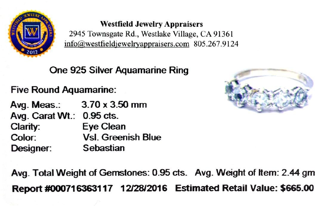 APP: 0.7k Fine Jewelry Designer Sebastian, 0.95CT Round - 2