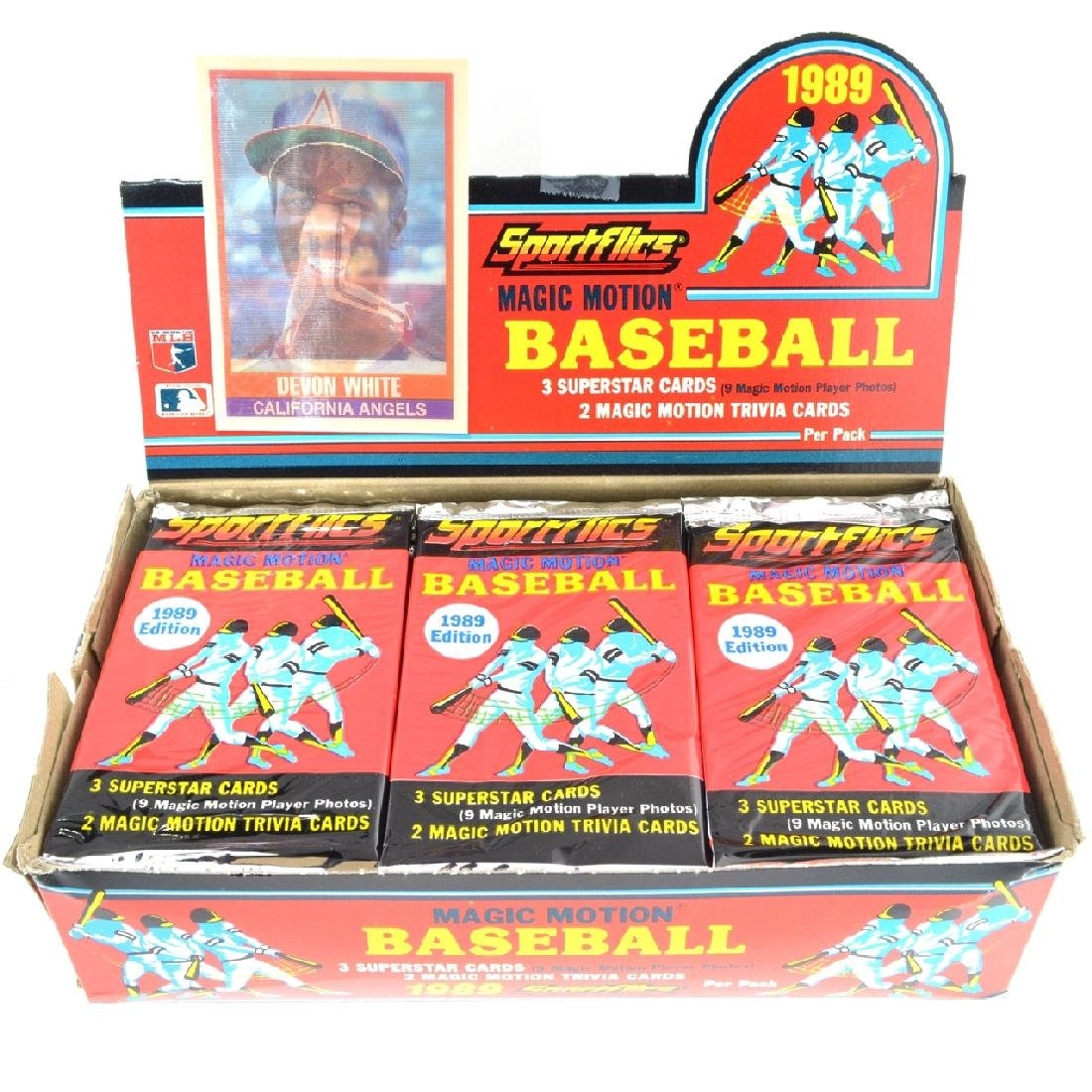 1989 Sportflics Magic Motion Baseball Card Set