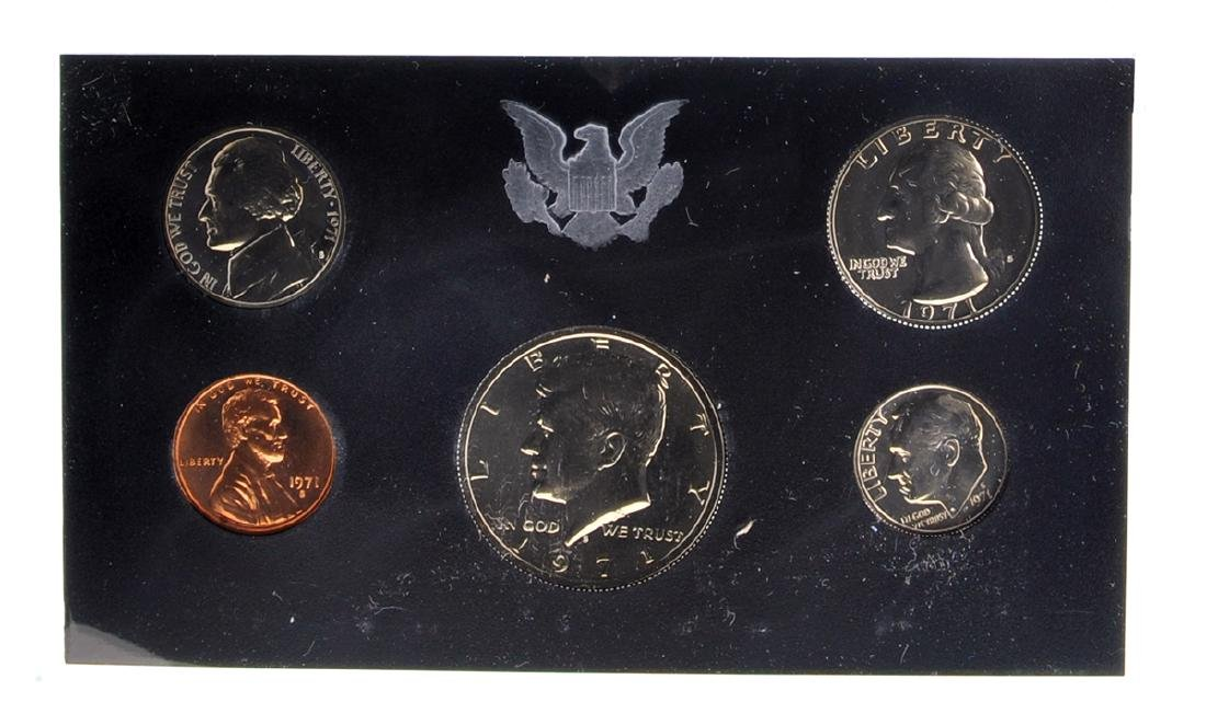 1971 United States Proof Set Coin