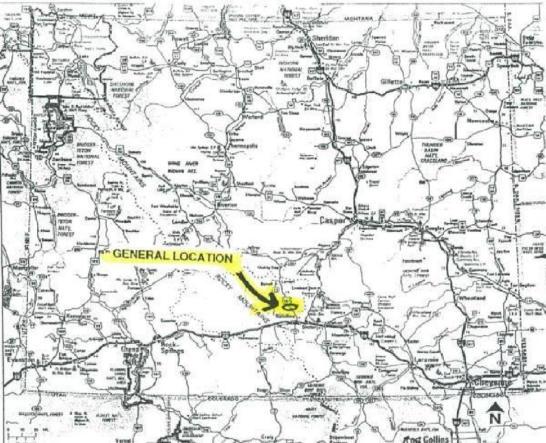 GovernmentAuction.com WY LAND, 40 AC., SWEETWATER, - 5
