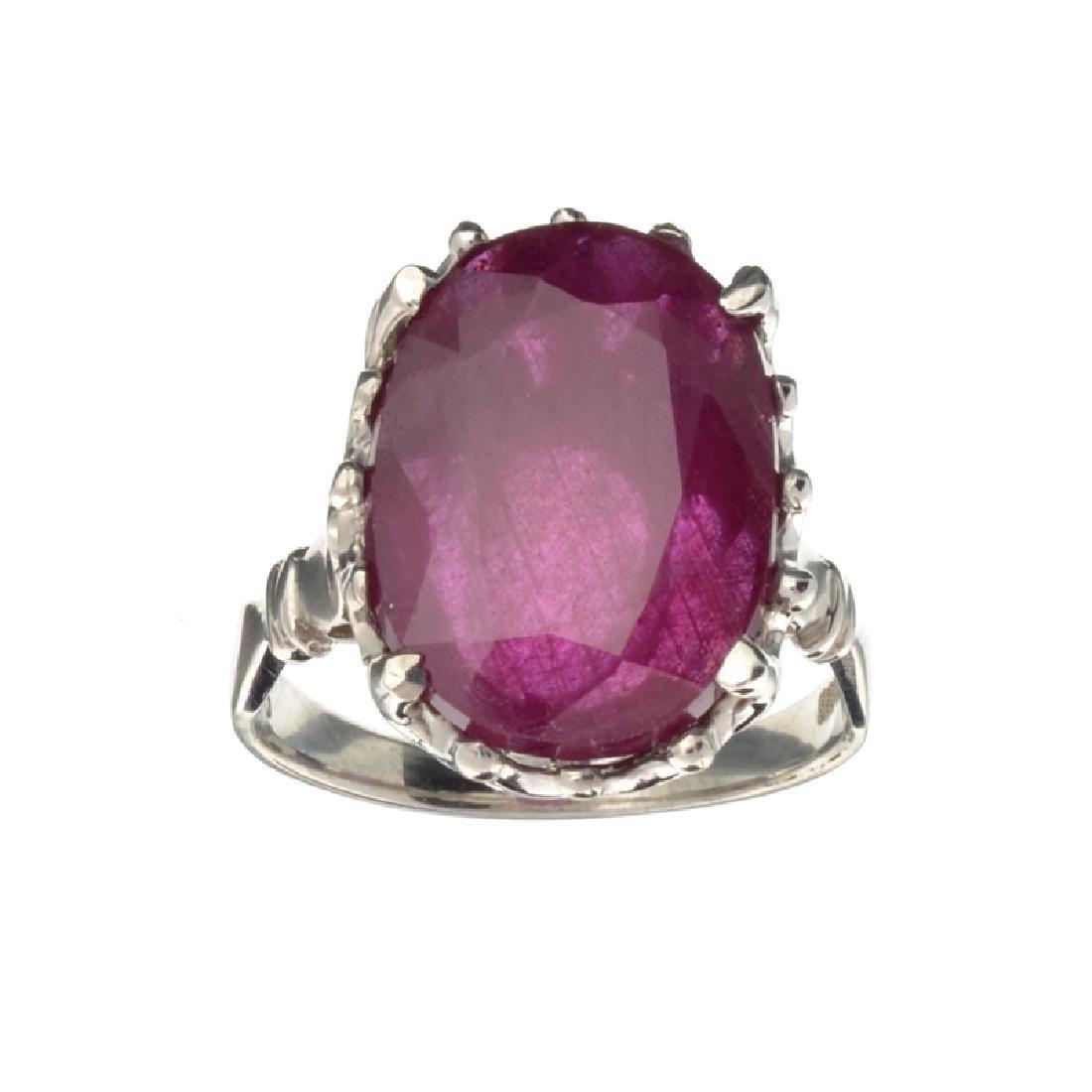 APP: 3.8k Fine Jewelry Designer Sebastian 12.81CT Oval