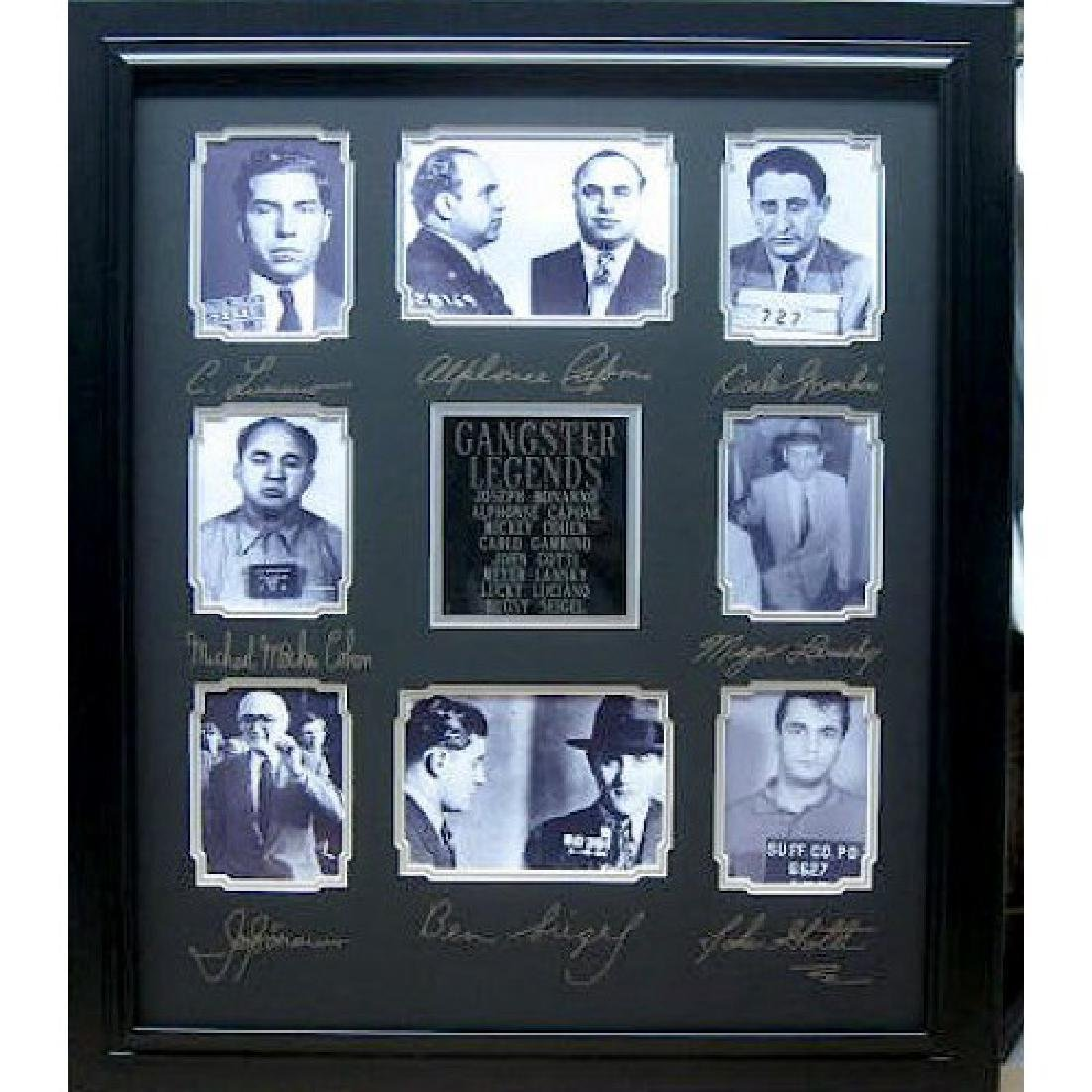 Gangster Legends Engraved