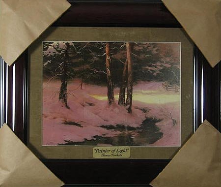2014: GOV: Thomas Kinkade - Museum Framed Small, Calend