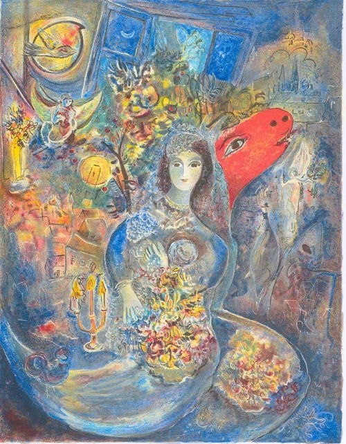 2020: CHAGALL Litho - Bella Mini, INVESTORS LOOK!!