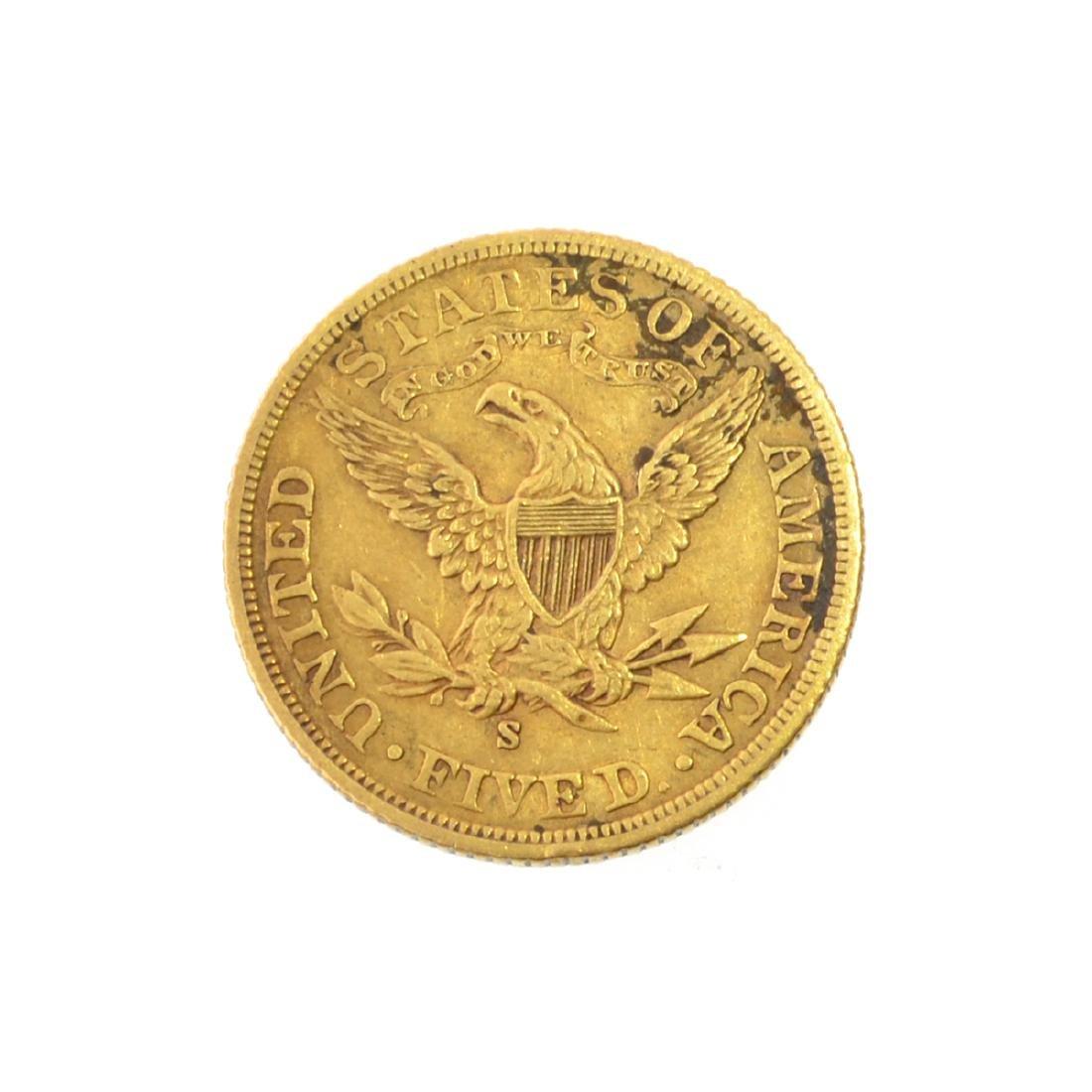 *1902 $5 U.S. Liberty Head Gold Coin (JG-N) - 2