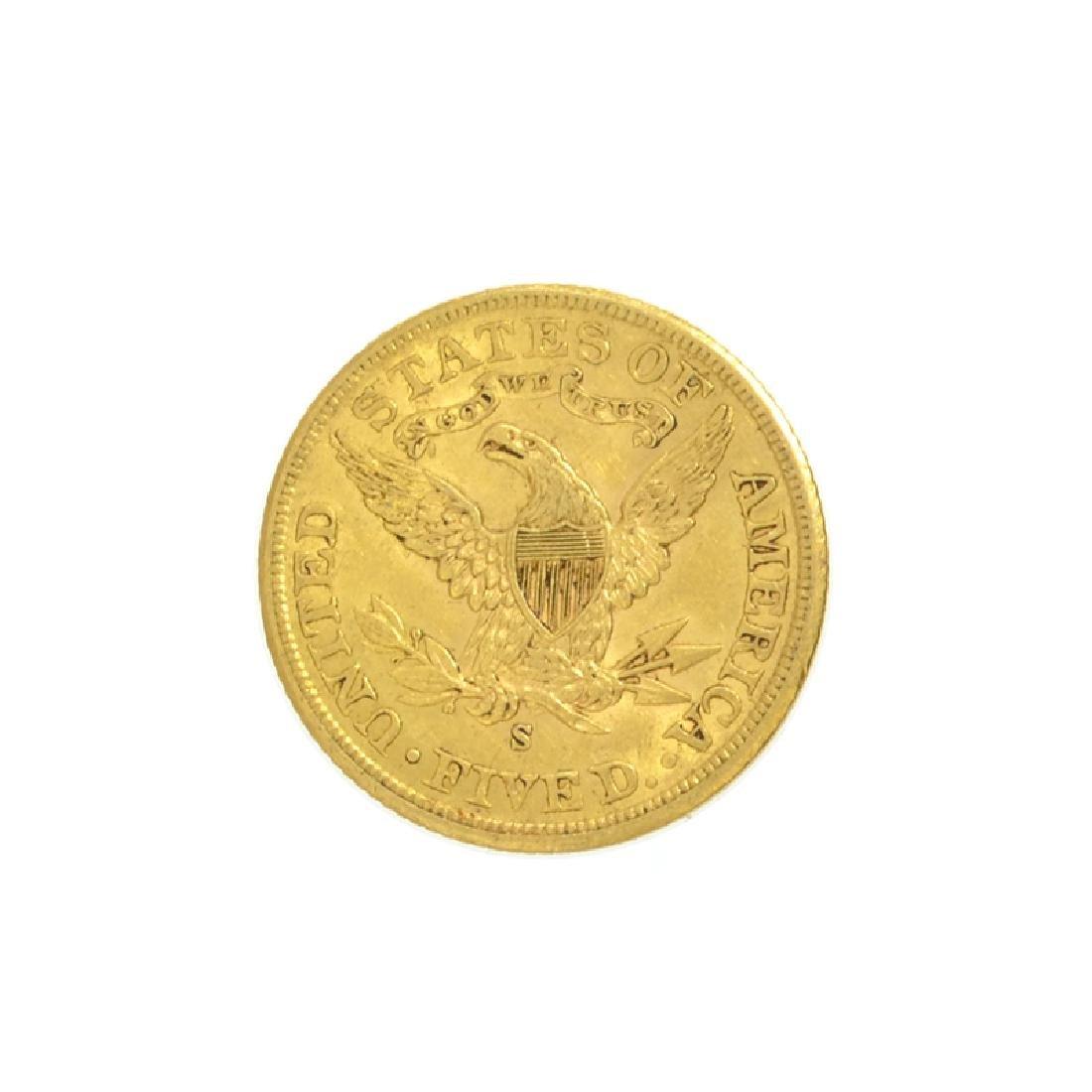 *1901-S $5 U.S. Liberty Head Gold Coin (DF) - 2