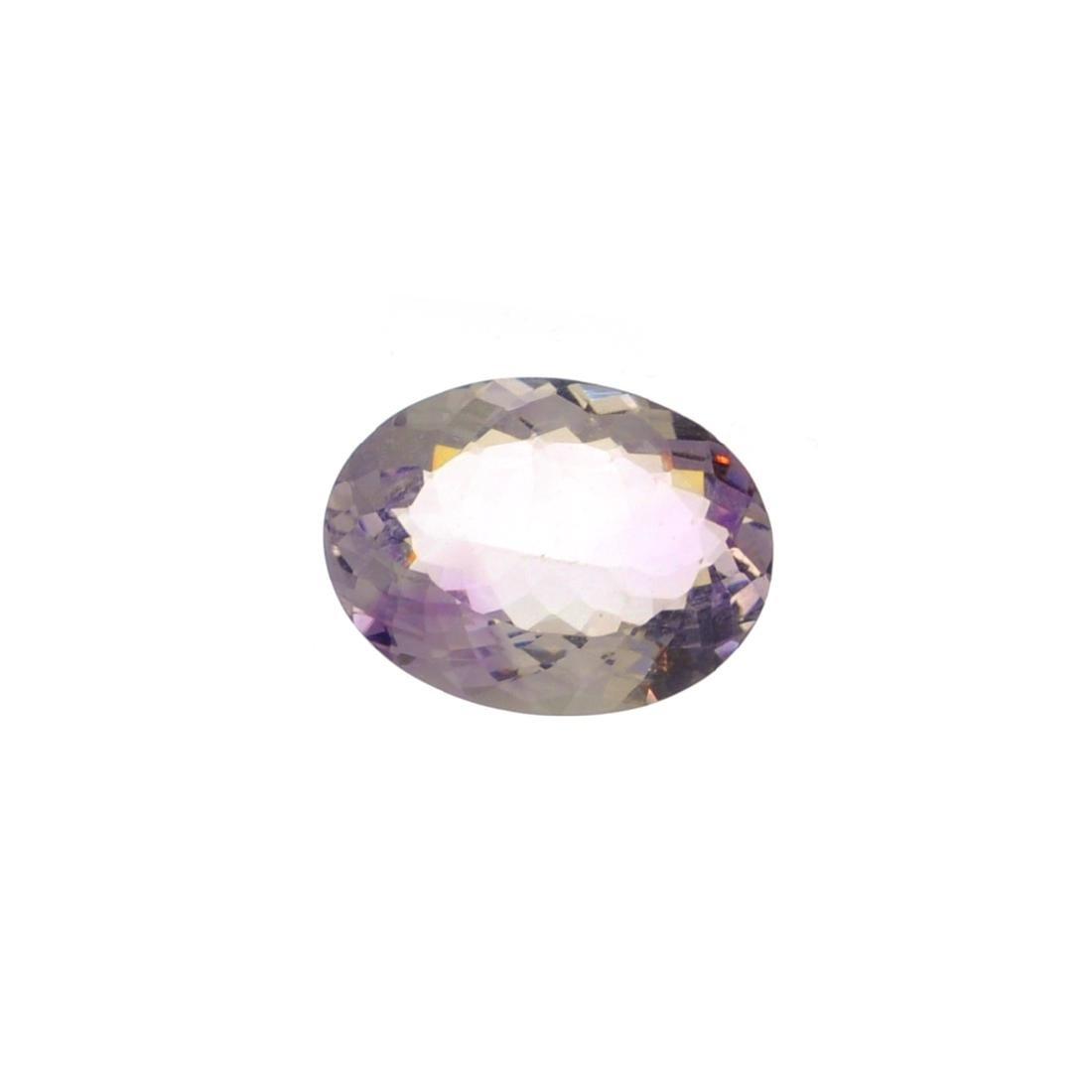 APP: 1.7k 14.50CT Oval Cut Light Purple Amethyst Quartz