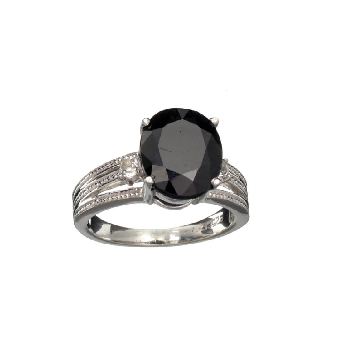 APP: 0.9k Fine Jewelry 2.75CT Dark Blue Sapphire And