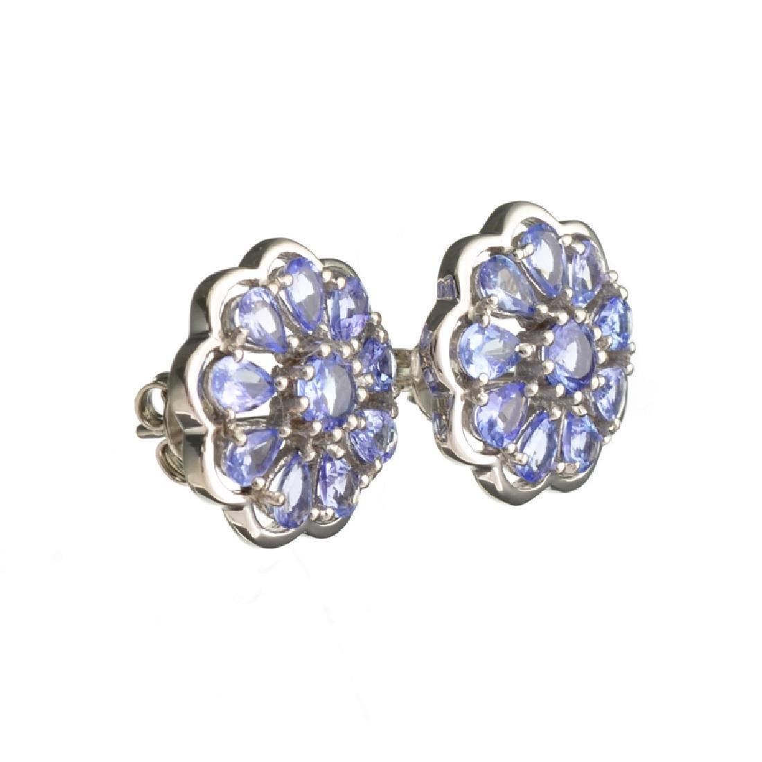 APP: 2.5k Fine Jewelry 0.60CT Round Cut Tanzanite And