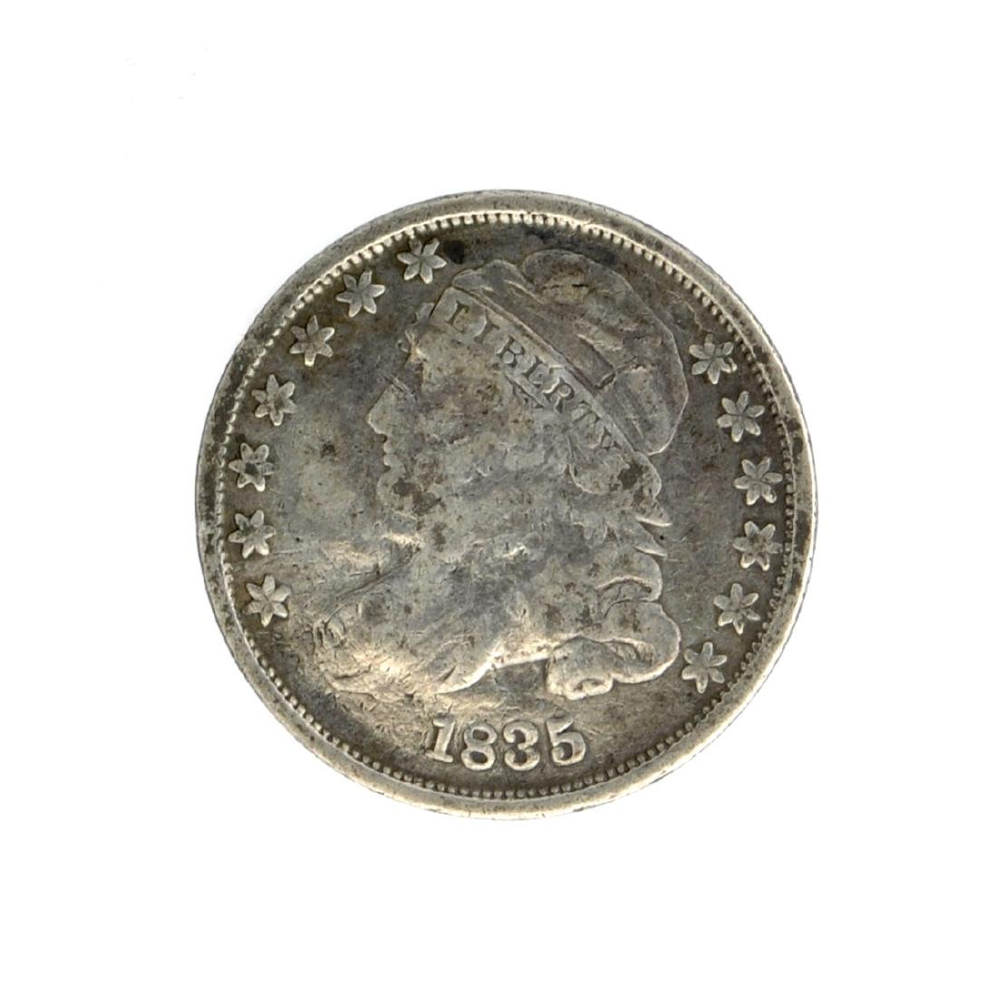 1835 Capped Bust Dime Coin