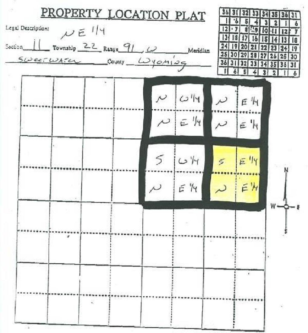 GovernmentAuction.com WY LAND, 40 AC., SWEETWATER, - 4