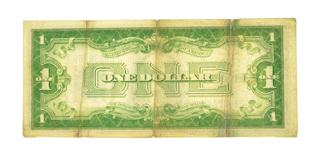 1934 $1 Silver Certificate Funny Back - 2
