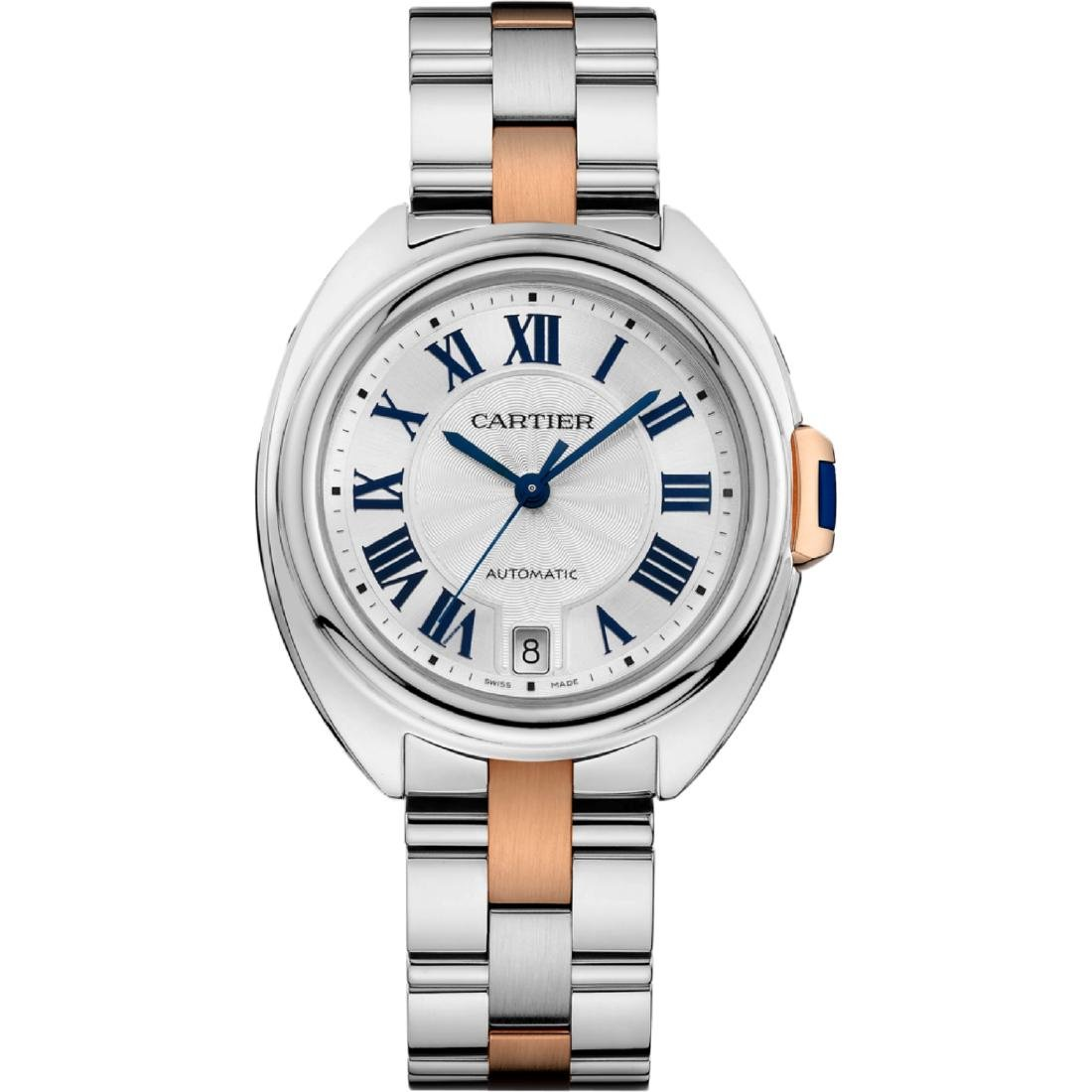 *Cartier Women's Cle De Cartier Stainless Steel Case,