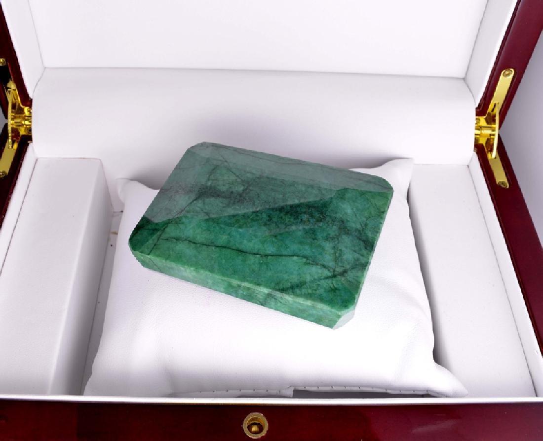 APP: 4.6k 929.50CT Emerald Cut Green Beryl Emerald