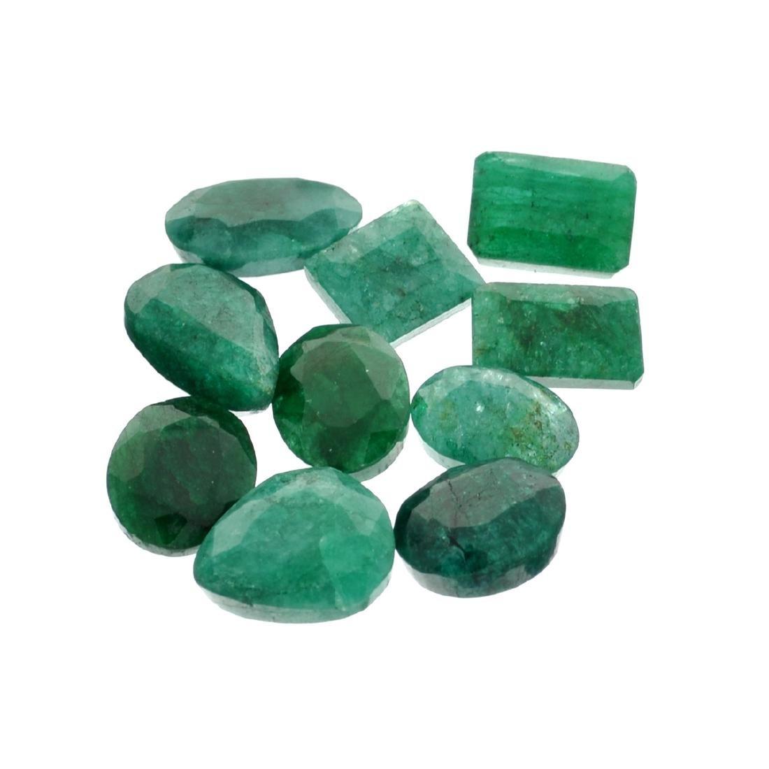 APP: 3.9k 51.89CT Green Emerald Parcel
