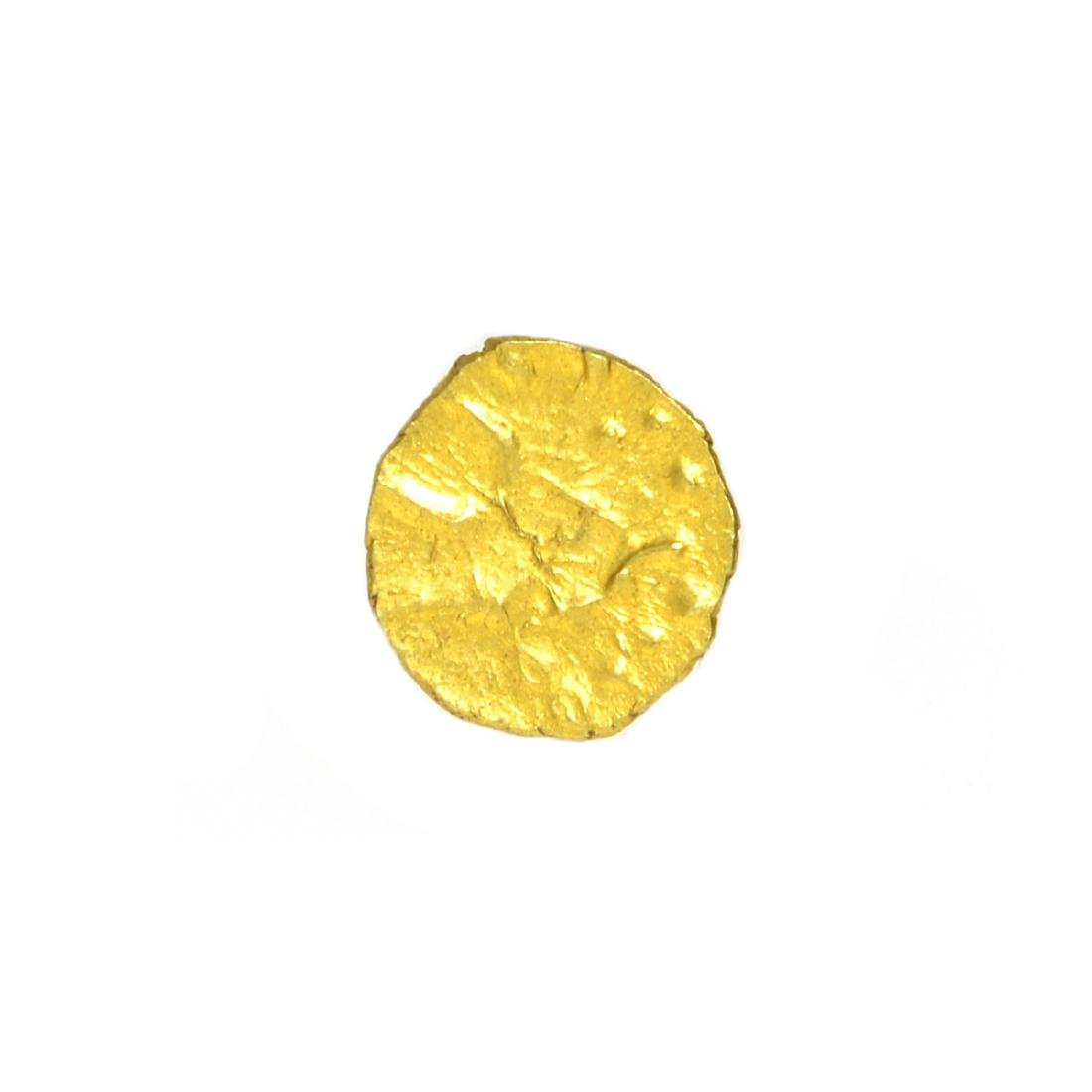 Gold Dutch India AV Fanam (1670 - 1784) Coin - 2