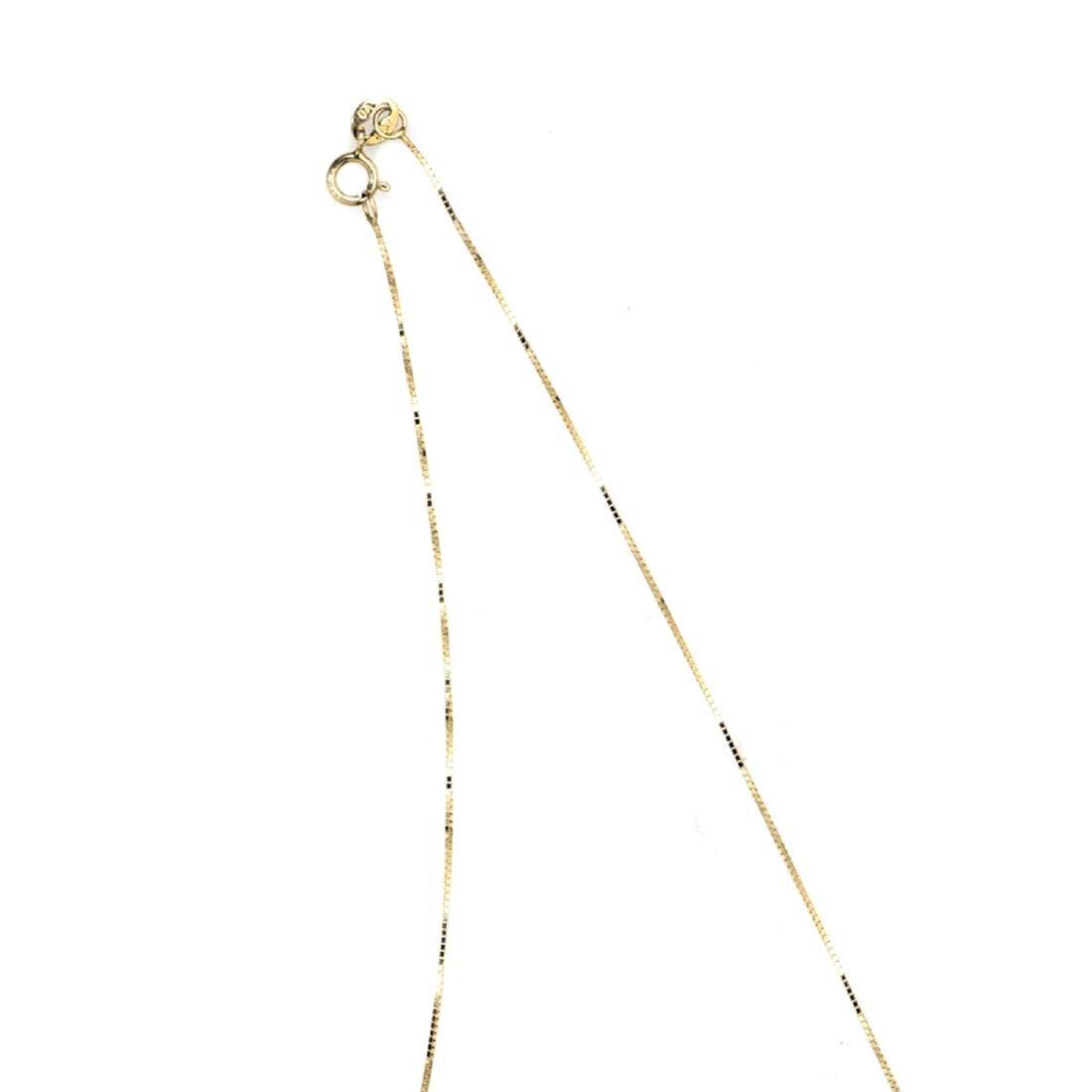 *Fine Jewelry 14KT Gold, 1.0GM, 18'' Chain (GL Neck - 2