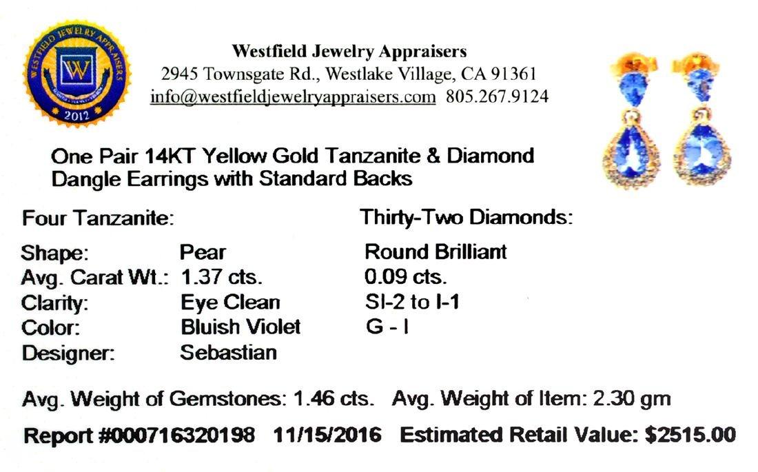 APP: 2.5k Fine Jewelry, Designer Sebastian 14KT Gold, - 2