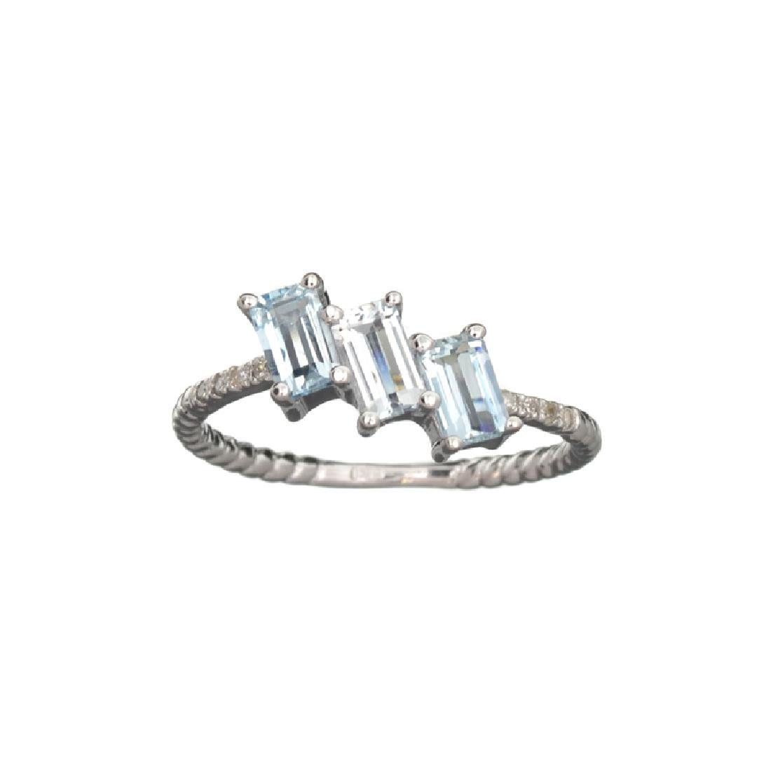APP: 1.1k Fine Jewelry 14KT Gold, 0.78CT Blue