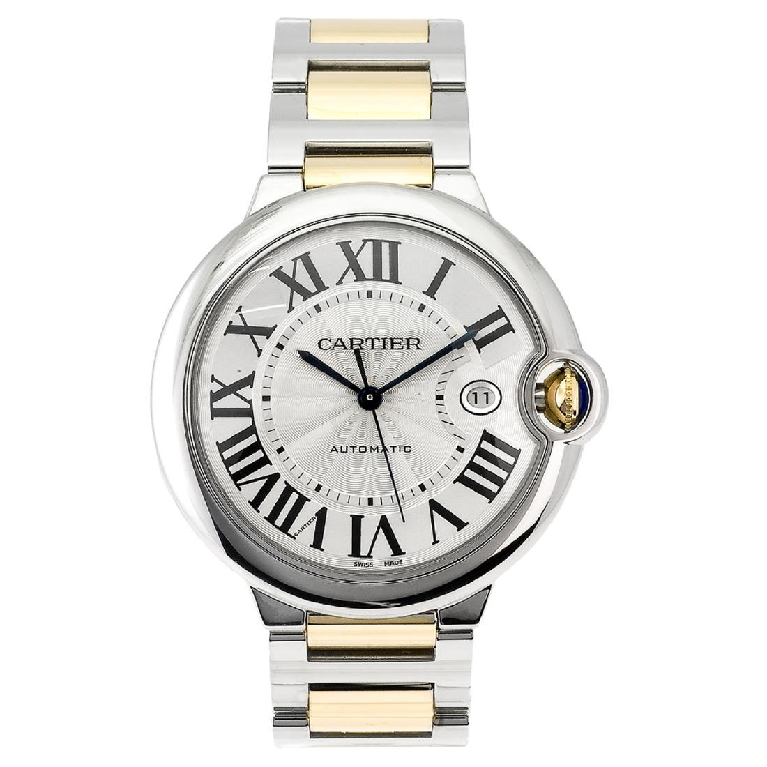 *Cartier Men's Ballon Bleu Stainless Steel Case,