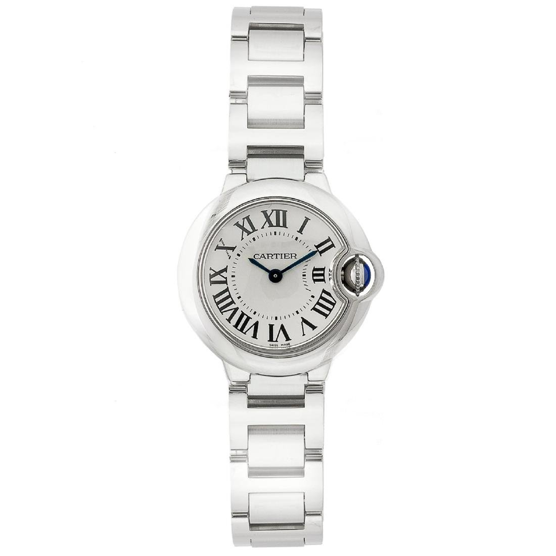 *Cartier Women's Ballon Bleu Stainless Steel Case,